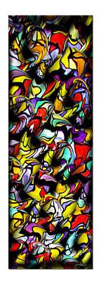 Color Unfolds Art Print by Joan  Minchak