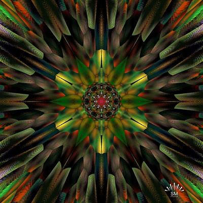 Painting - Color Wheel Art  by Sheila Mcdonald