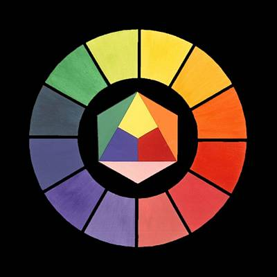 Painting - Color Wheel by Jr L