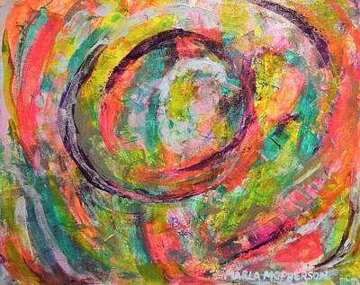 Curated Weekender Tote Bags - Color Whirls by Marla McPherson