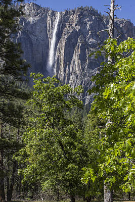 Photograph - Color Yosemite Waterfall  by John McGraw