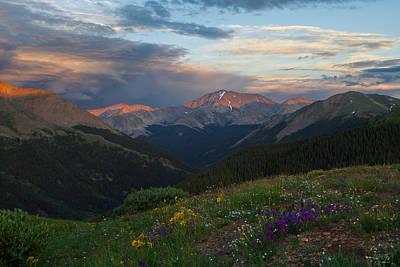 Of Ers Photograph - Colorado 14er La Plata Peak by Aaron Spong