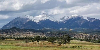 Photograph - Colorado 14er Mt. Shavano by Aaron Spong