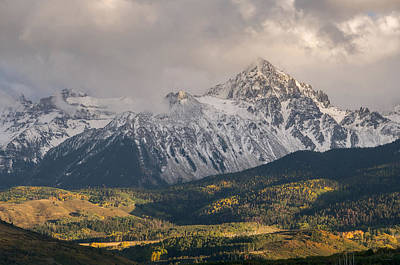 Photograph - Colorado 14er Mt. Sneffels by Aaron Spong