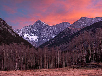 Photograph - Colorado 14ers Blanca And Ellingwood by Aaron Spong
