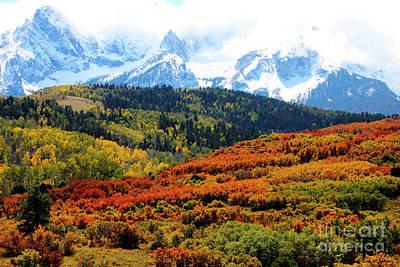 Colorado Autumn 2016 San Juan Mountains  Art Print