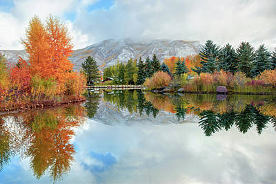 Colorado Ski Art Wall Art - Photograph - Colorado Autumn Splendor - Aspen by Gregory Ballos