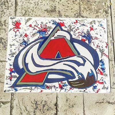 Colorado Avalanche Painting - Colorado Avalanche by Ethan James