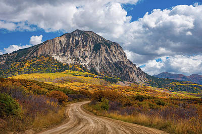 Gravel Road Photograph - Colorado Backroads by Darren White
