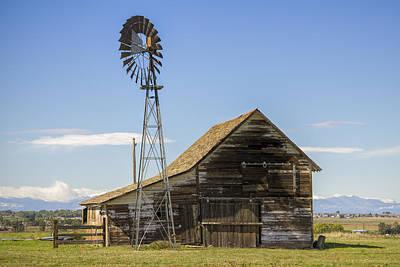 Colorado Barn Art Print by Dave Crowl