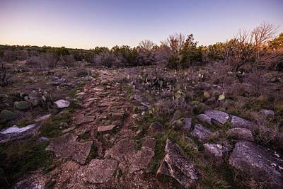 Photograph - Colorado Bend State Park Gorman Falls Trail #1 by Micah Goff