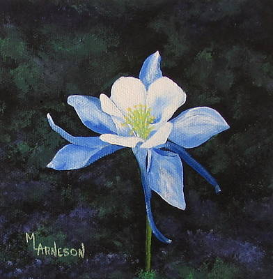 Wall Art - Painting - Colorado Blue by Mary Arneson