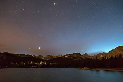 Photograph - Colorado Brainard Lake Galaxy Night by James BO Insogna
