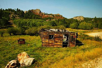 Colorado Cabin Art Print by Jeff Swan