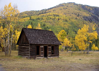 Colorado Cabin Art Print by Marty Koch
