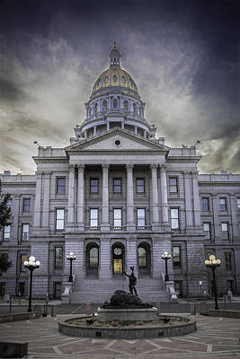 Photograph - Colorado Capitol Building by Jason Moynihan