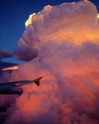 Colorado Cloud Art Print by Gina Cordova