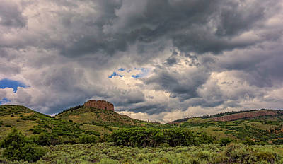Colorado Cloudscape Art Print by Loree Johnson