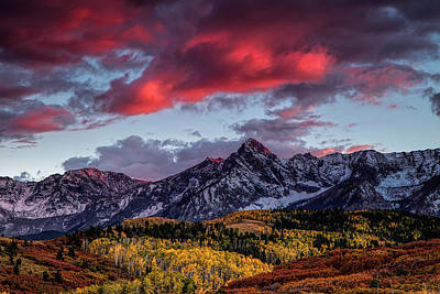 Colorado Colors Art Print by Andrew Soundarajan