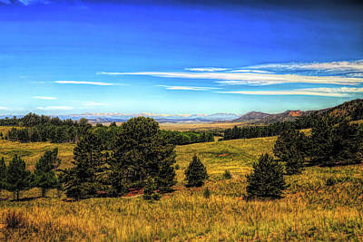 Photograph - Colorado Country 2 Oil Painting by Judy Vincent