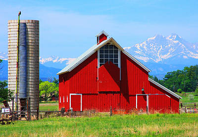 Photograph - Colorado Country Fine Art Print by James BO Insogna