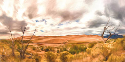 Painting - Colorado Dunes by Joe Sparks