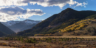 Photograph - Colorado East Portal Autumn Panorama by James BO Insogna