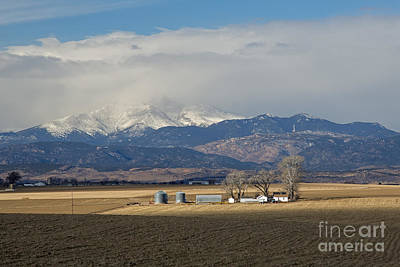 Photograph - Colorado Farm by Jim West