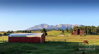 Photograph - Colorado Farm by Richard Smith