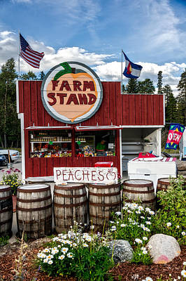 Colorado Farm Stand Print by Mountain Dreams
