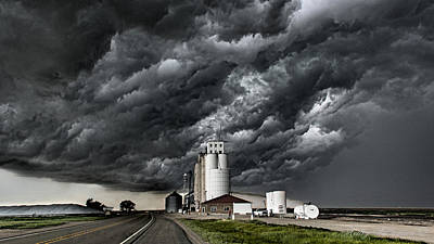 Feed Mill Photograph - Colorado Feed Mill by Kelley Williamson