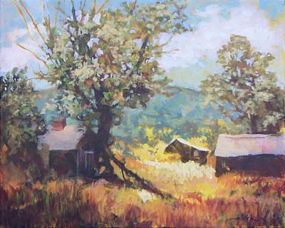 Painting - Colorado Field by Carol Strickland