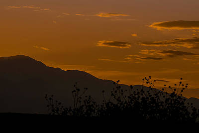 Colorado Front Range Sunset Art Print