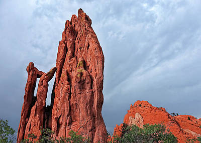 Photograph - Colorado Garden Of The Gods - Photography by Ann Powell