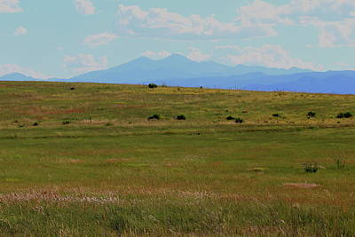 Photograph - Colorado Grassland by Trent Mallett