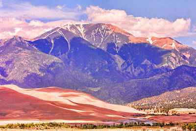 Colorado Great Sand Dunes National Park  Art Print by James BO  Insogna