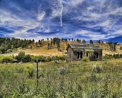 Photograph - Colorado Homestead by John Bushnell