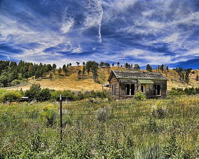 Photograph - Colorado Homestead by John Bushnell
