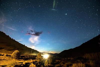 Photograph - Colorado Incoming Ufo Landing by James BO Insogna