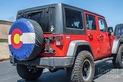 Photograph - Colorado Jeep  by Tony Baca