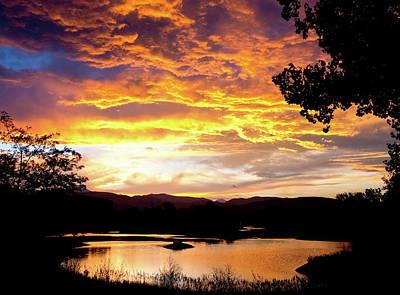 Colorado July Sunset Print by James BO Insogna