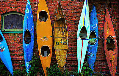 Photograph - Colorado Kayak Memories - Photography by Ann Powell