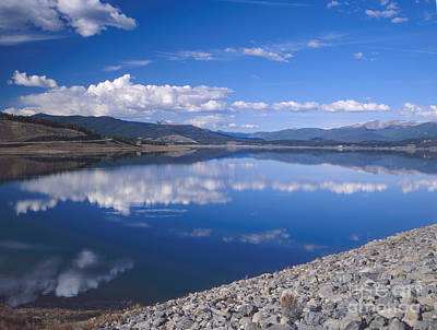 Colorado Lake Reflection Art Print
