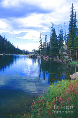 Colorado Lake Art Print