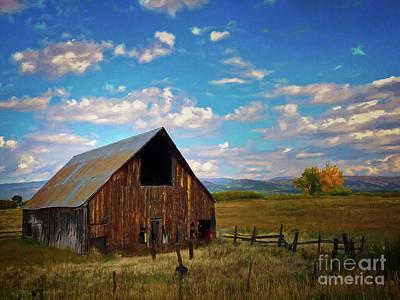 Photograph - Colorado Landscape by Doug Sturgess