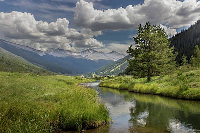 Photograph - Colorado Landscape by James Woody