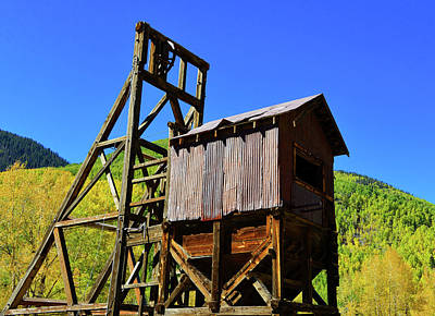 Photograph - Colorado Mining by David Lee Thompson