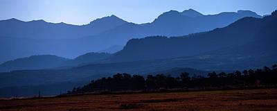 Pyrography - Colorado Mountains by Judith Barath