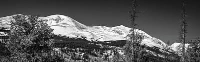 Photograph - Colorado Mountain Panorama-02 by Philip Rispin
