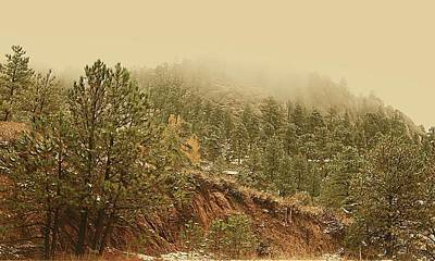 Photograph - Colorado Mountain Side - Estes Park by Angie Tirado